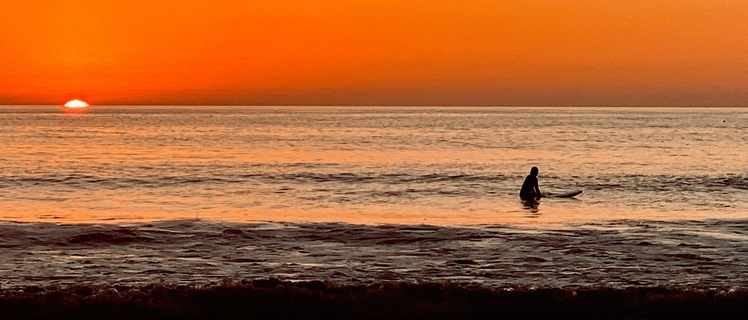 Surfer Moonlight Beach Encinitas