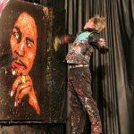 Brian Olsen Finishing Bob Marley